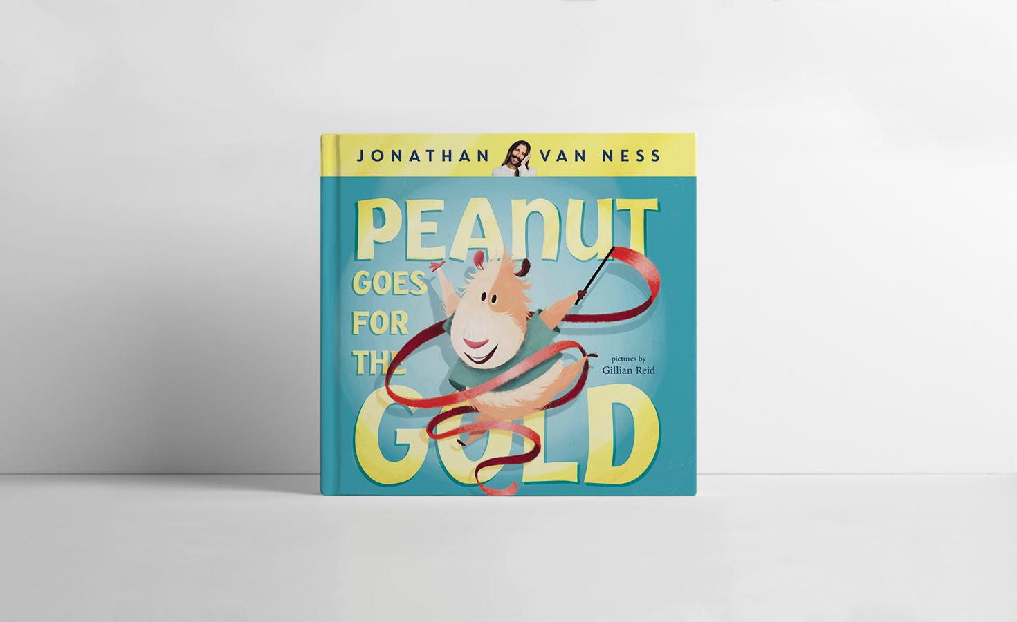 CAA-Publishing-Peanut-Goes-for-gold